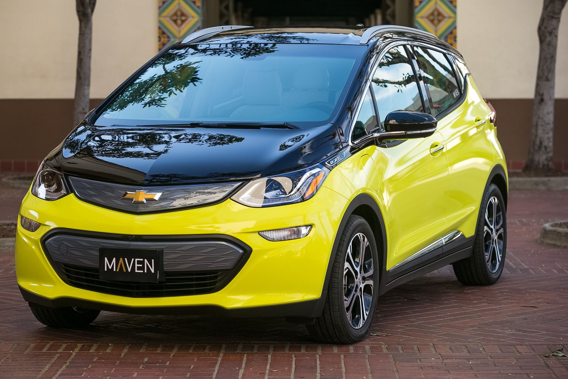 Maven, General Motors' personal mobility brand, announces it is adding more than 100 Chevrolet Bolt EVs in the Los Angeles market, allowing for nearly 250,000 all electric miles per month, Thursday, February 16, 2017 in Los Angeles, California. Maven is partnering with the City of Los Angeles to co-create transportation options that will enhance mobility, bring more electric vehicles, create jobs and ease parking and congestion. (Photo by Dan MacMedan for Maven)